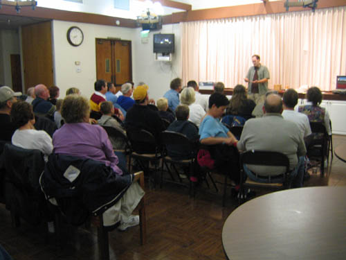 A Presentation at a Mineral Club
