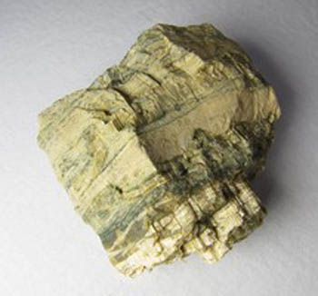 Specimen of Serpentine, Chrysotile and Aragonite