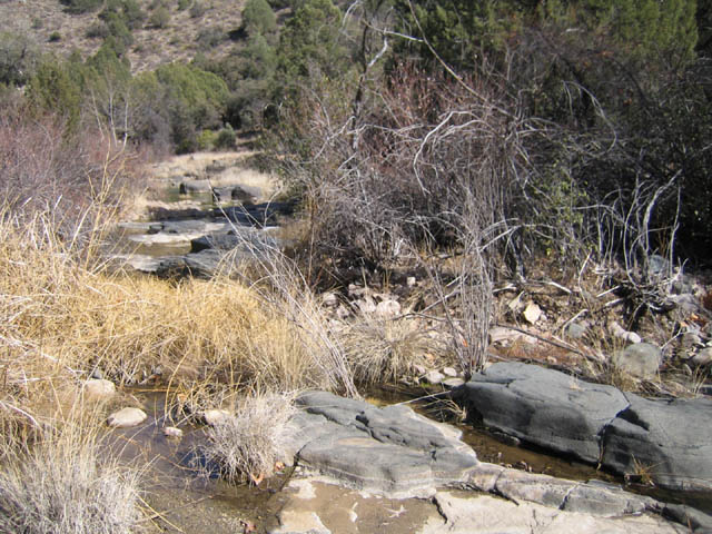 stream you cross at the start of phillips chrysotile mine road