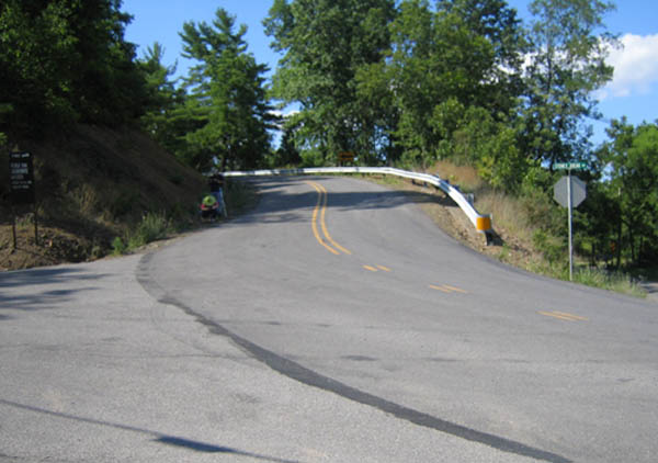 Typical Shale Road Cut in Pennsylvania